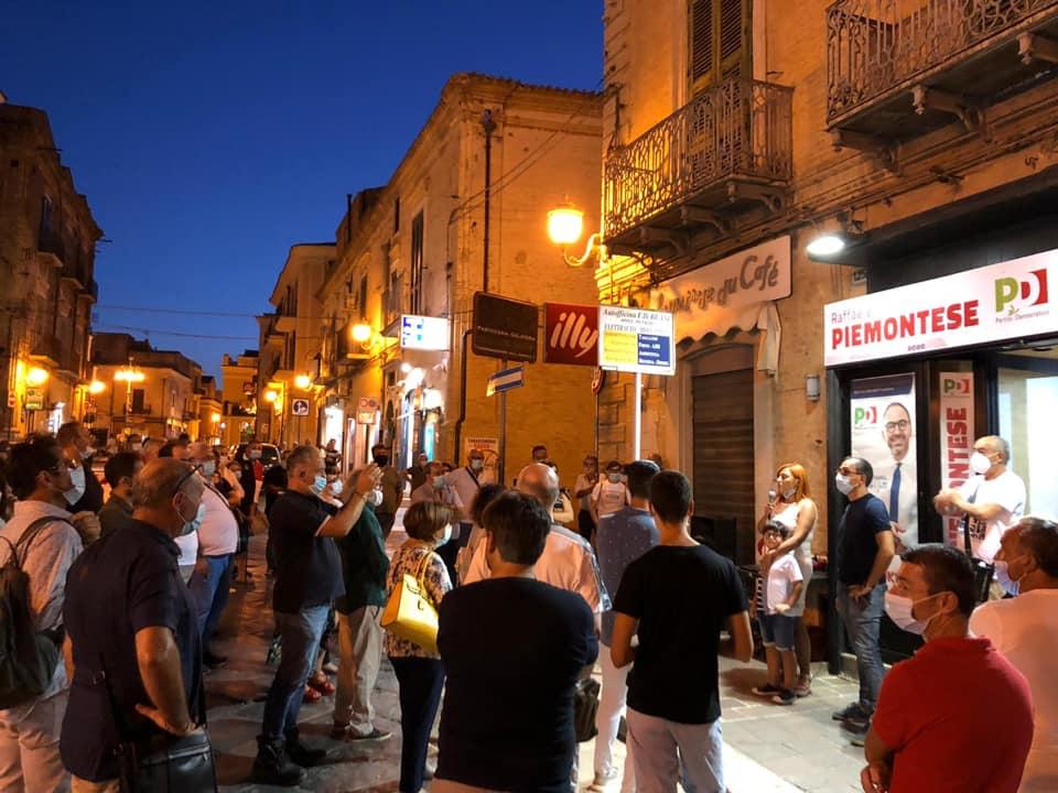 Resoconto del tour elettorale del dem Raffaele Piemontese a Torremaggiore per le elezioni regionali