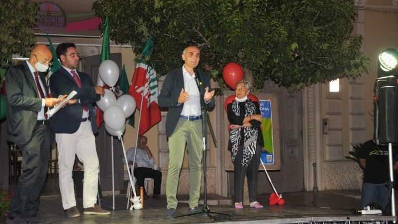 Regionali Puglia 2020: ecco il video del comizio conclusivo di Forza Italia a Torremaggiore del 16 settembre 2020 con l'on Sisto