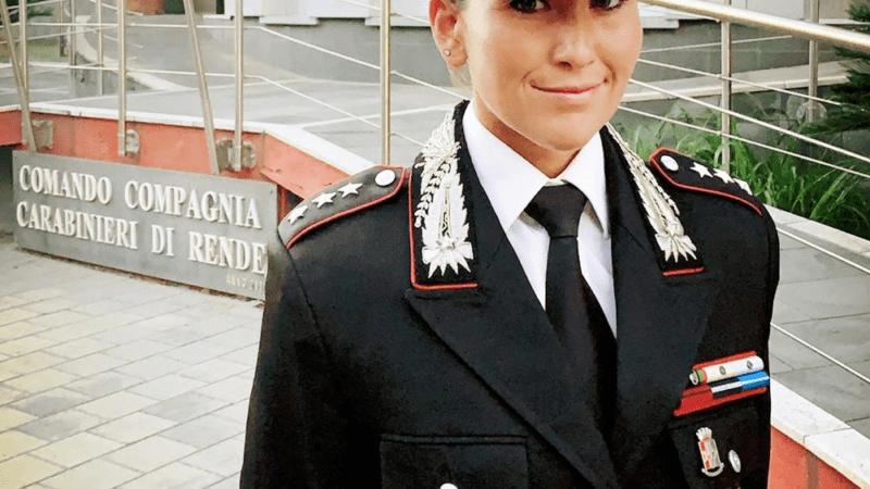 La torremaggiorese Mariachiara Soldano è il nuovo comandante dei Carabinieri di Rende Cosenza