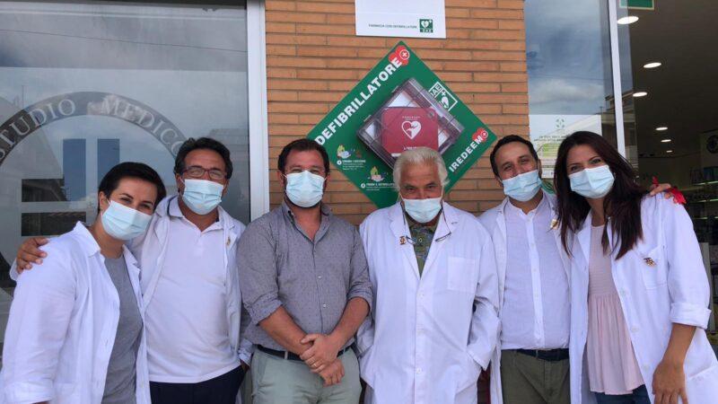 Torremaggiore: installato ed inaugurato defibrillatore automatico presso la Farmacia San Matteo dei Dottori Mastandrea