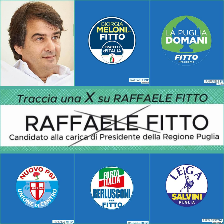 Regionali Puglia 2020: di rappresentanti di lista del centrodestra a Torremaggiore è stata prevista una persona per sezione