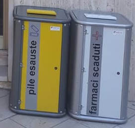 Attivi i raccoglitori per pile esauste e farmaci scaduti nei pressi di tutte le farmacie di Torremaggiore dal 6 ottobre 2020