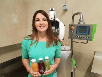 Succhi di benessere e qualità totale è la sfida di Claudia De Frias tutta Made in Torremaggiore