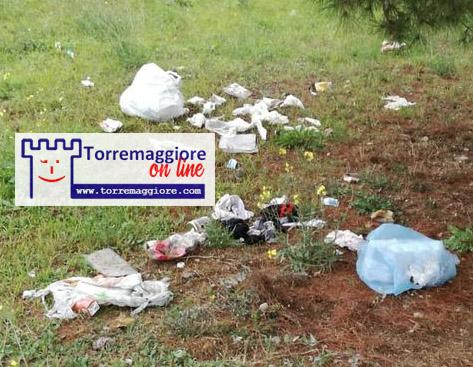 Verde pubblico degradato su Viale XXV Aprile a Torremaggiore: fermate il malcostume dilagante!
