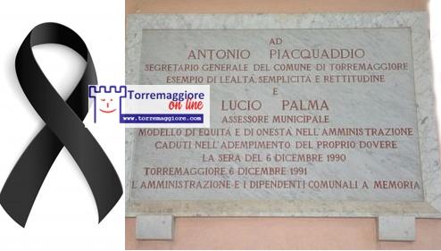 6 dicembre 2020: trentennale della strage di San Nicola avvenuta a Palazzo di Città: il ricordo dell'Avv. Bepi Antonucci