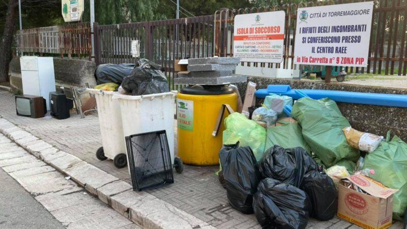 Fdi Torremaggiore sull'immondizia all'Isola Ecologica: dove sono i controlli?