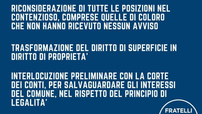 Zona PEEP basta promesse elettorali! Le proposte di Fratelli d'Italia di Torremaggiore