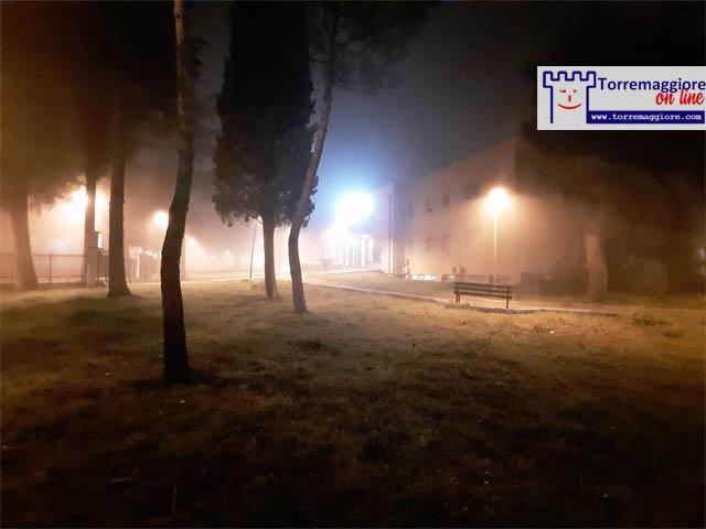 Nebbia a Torremaggiore il 21 febbraio 2021: galleria fotografica completa