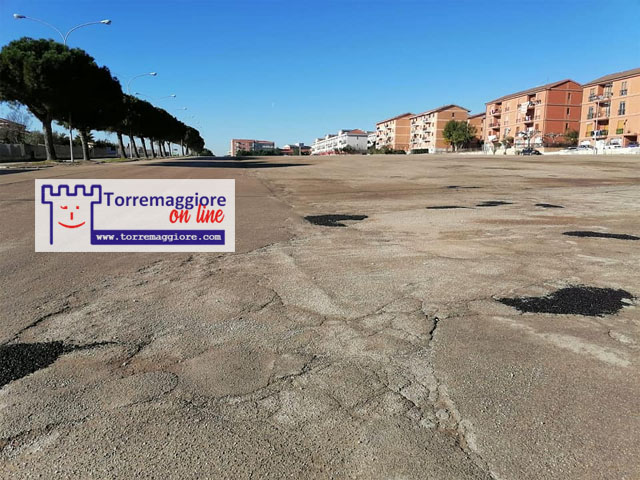Avviato il ripristino del manto stradale a Torremaggiore, l'annuncio del sindaco Emilio Di Pumpo