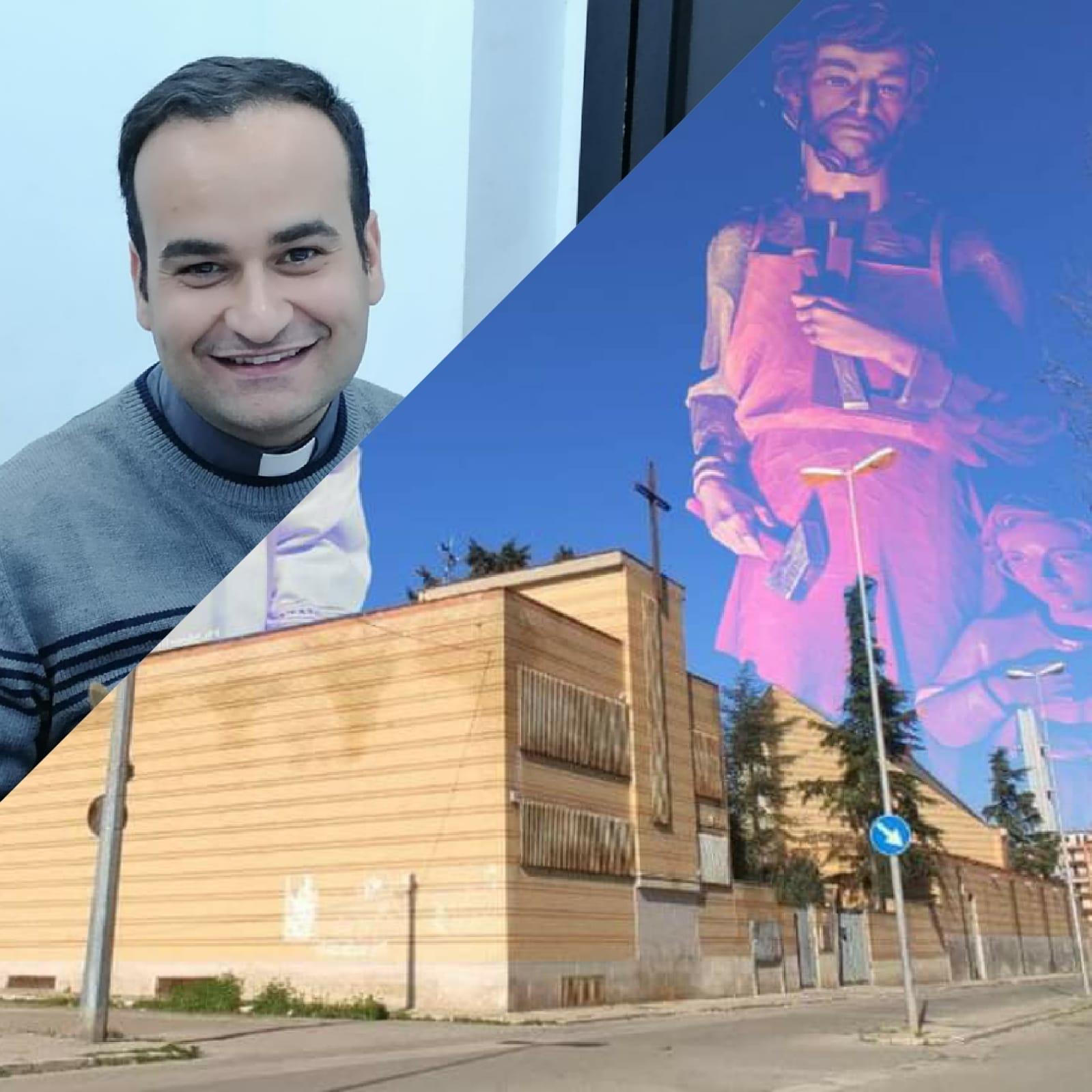 E' il torremaggiorese Don Federico Ferrucci il nuovo amministratore della Parrocchia San Giuseppe Artigiano di San Severo