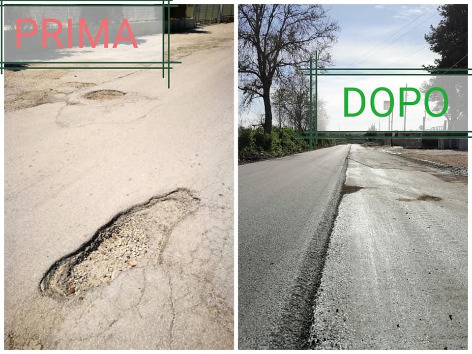 Avviata dalla Provincia la sistemazione della SP12 con il rifacimento della carreggiata stradale e con la pulizia delle cunette: soddisfazione del sindaco Di Pumpo