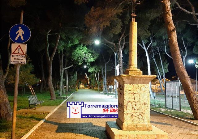 15 marzo 2021 Puglia in zona rossa :  Torremaggiore notturna deserta e misteriosa aspettando il graduale ritorno alla normalità