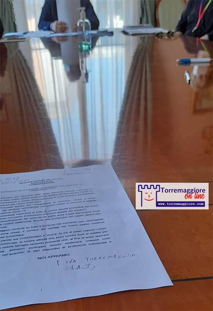 Dopo la manifestazione del 9 aprile 2021 delle partite iva dell'Alto Tavoliere pugliese e l'incontro con il sindaco di Torremaggiore ecco le istanze richieste alle autorità – ESCLUSIVO –