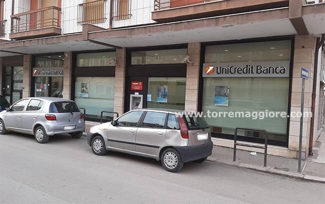 Unicredit chiude la filiale di Torremaggiore