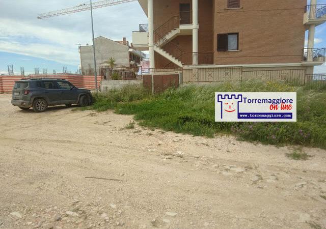 Aspettando la realizzazione della strada su Via Francesco De Pasquale al Quartiere Spirito Santo di Torremaggiore ecco le foto dello stato attuale