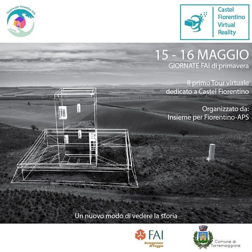 Giornate FAI a Castel Fiorentino il 15 e 16 maggio 2021 : prenota on line la visita virtuale