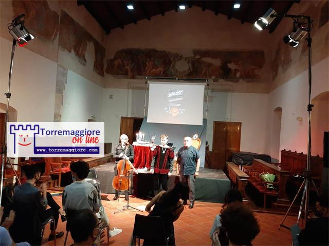 Grande successo ha riscosso il monologo teatrale Gesualdo da Venosa realizzato con la regia del Dott Walter Scudero che si è svolto il 12 giugno 2021 a Torremaggiore al Castello Ducale De Sangro