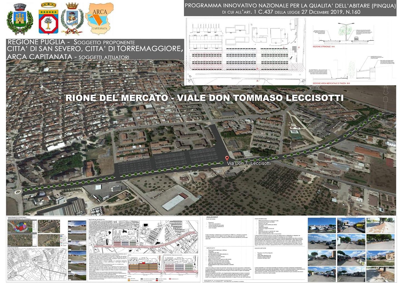 Quattro milioni di euro a Torremaggiore per riqualificare Via Don Tommaso Leccisotti: pubblicata la graduatoria ministeriale con accettazione del progetto congiunto con il Comune di San Severo