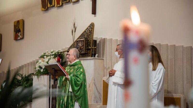 14 agosto 2021: 55°anniversario di ordinazione di Don Renato, auguri dalla comunità parrocchiale di Gesù Divino Lavoratore