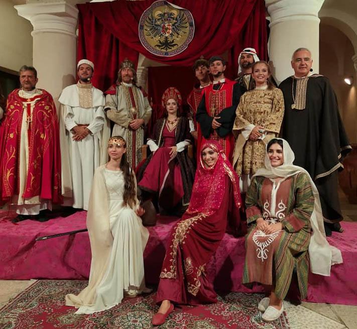 Resoconto dello spettacolo FRIDERICUS – HISTORIA FRIDERICIANA andato in scena il 5 settembre 2021 al Castello Ducale De Sangro di Torremaggiore