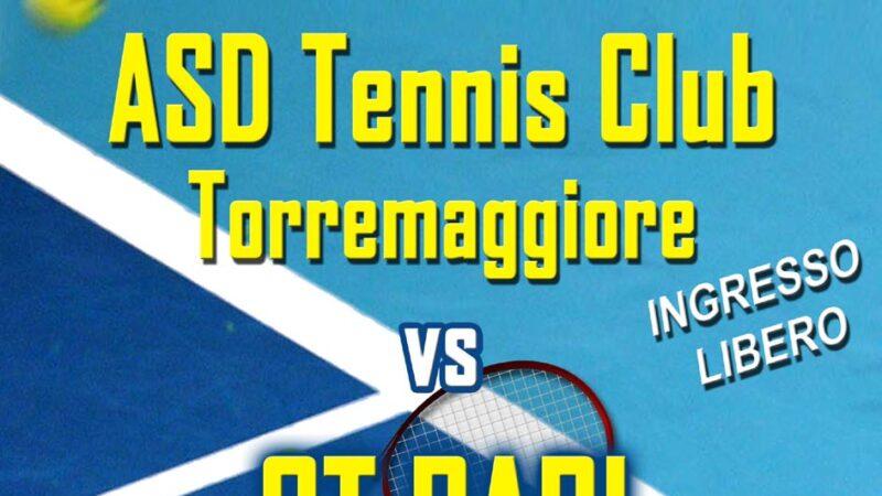 L'ASD Tennis Club Torremaggiore sfida la CT BARI per la qualificazione in serie D1 al Circolo Tennis di Via De Gasperi il 26 settembre 2021 alle ore 9