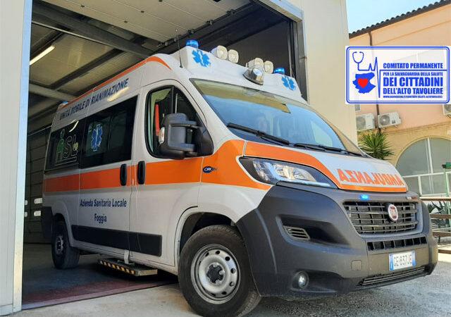 Stabilizzazione salvavita ad una bimba di quindici mesi effettuata con successo dal team medico ed infermieristico del Punto di Primo Intervento di Torremaggiore al PTA Prof N. Bellantuono (ex San Giacomo)